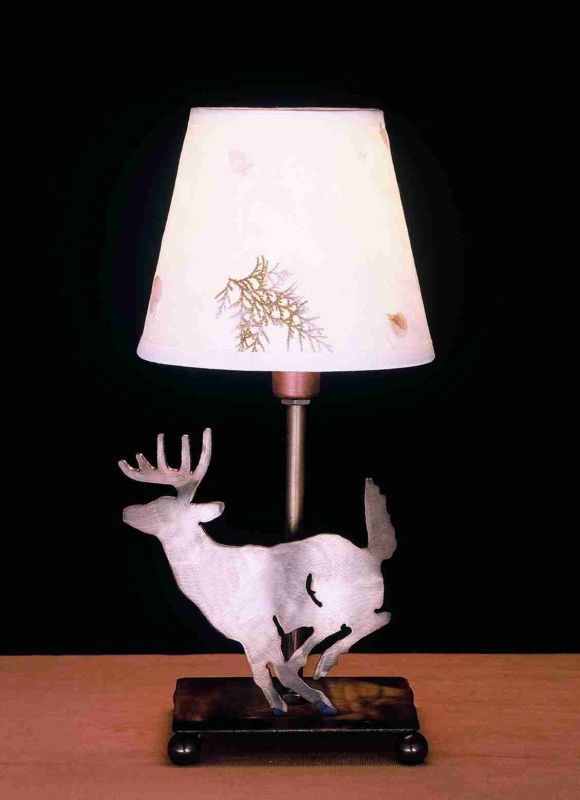 Meyda Tiffany 50612 Accent Table Lamp from the Elks Club Collection