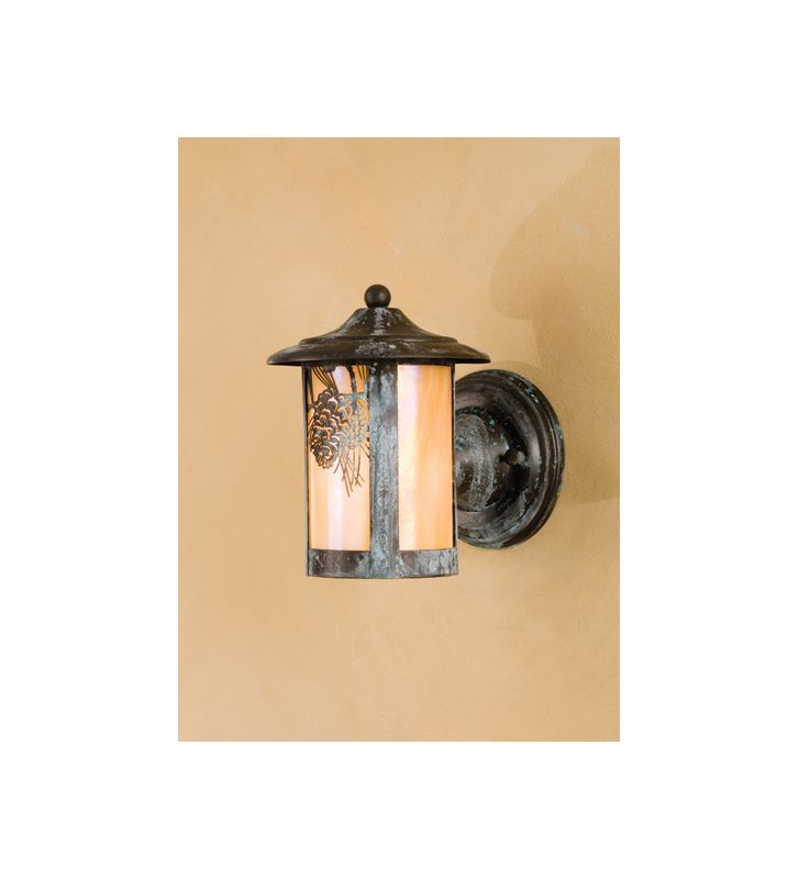 "Meyda Tiffany 50706 6"" Wide Single Light Lantern Wall Sconce N/A"