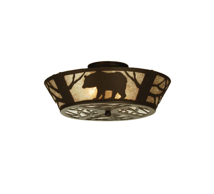 Meyda Tiffany 51328 Two Light Semi-Flush mount Ceiling Fixture N/A Sale $580.80 ITEM: bci625542 ID#:51328 UPC: 705696513284 :
