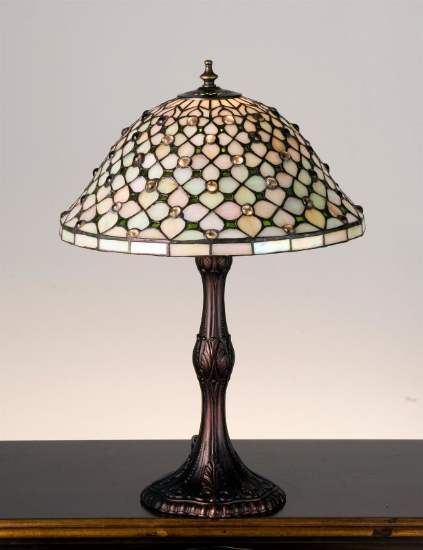 Meyda Tiffany 52010 Stained Glass / Tiffany Accent Table Lamp from the