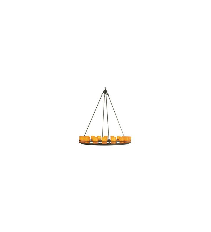 Meyda Tiffany 52106 Twelve Light Circular Chandelier Indoor