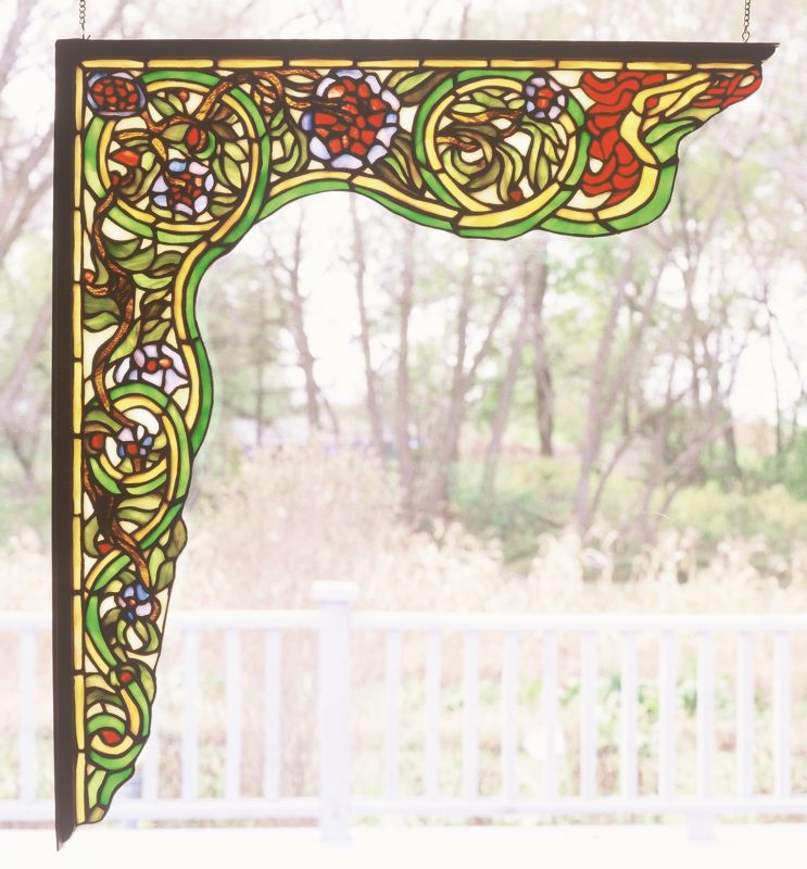 Meyda Tiffany 65221 Stained Glass Tiffany Window from the Italian
