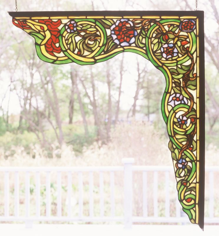 Meyda Tiffany 65222 Stained Glass Tiffany Window from the Italian
