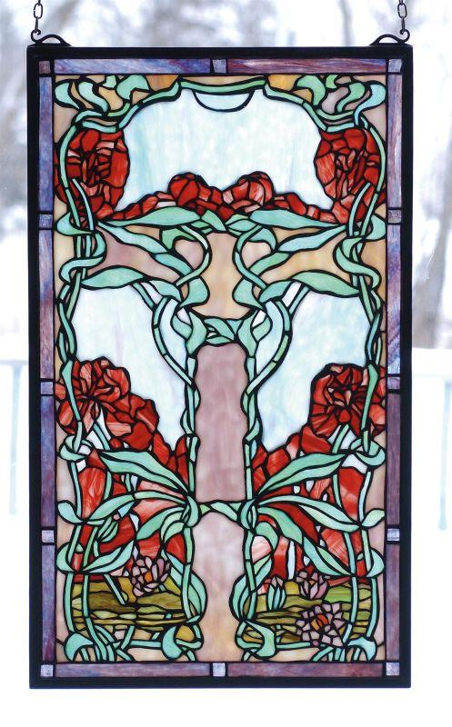 Meyda Tiffany 65711 Stained Glass Tiffany Window from the Tiffany