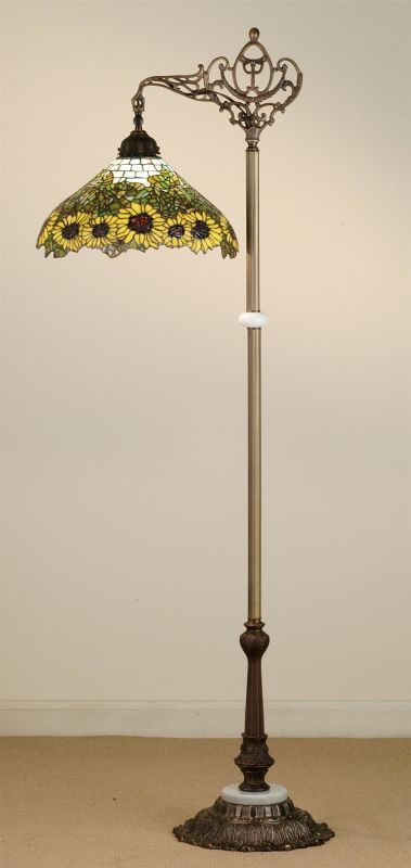 Meyda Tiffany 65834 Stained Glass / Tiffany Floor Lamp from the Wild