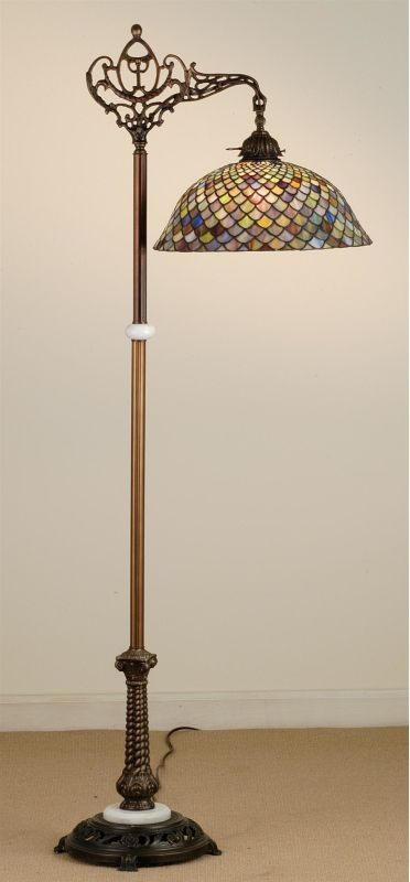 Meyda Tiffany 65838 Stained Glass / Tiffany Floor Lamp from the