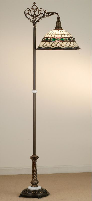 Meyda Tiffany 65839 Stained Glass / Tiffany Floor Lamp from the