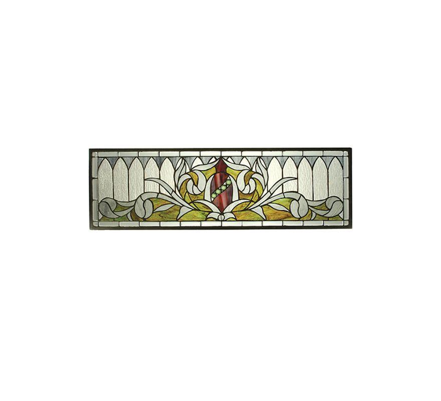 Meyda Tiffany 66384 Tiffany Rectangular Glass Window Pane from the