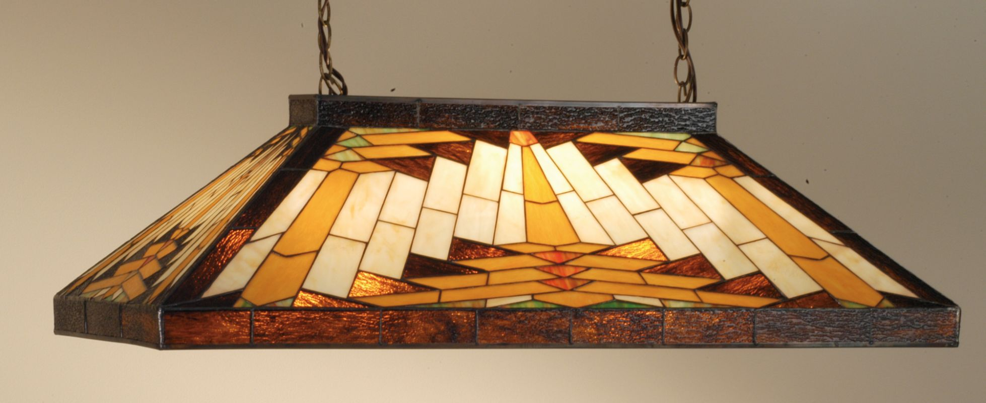 Meyda Tiffany 66677 Stained Glass / Tiffany Island / Billiard Fixture