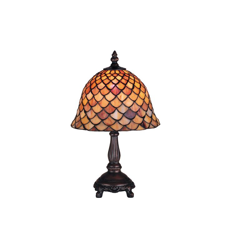 Meyda Tiffany 67378 Stained Glass / Tiffany Accent Table Lamp from the