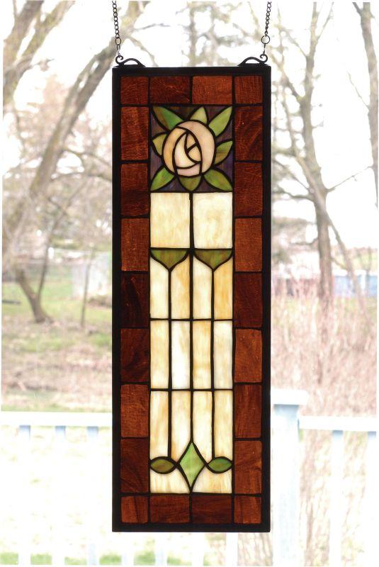 Meyda Tiffany 67791 Stained Glass Tiffany Window from the Arts &