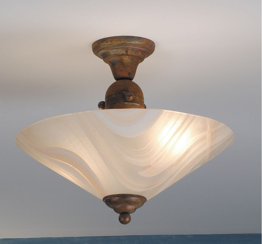 Meyda Tiffany 68692 Semi-Flush Ceiling Fixture from the Metro Line