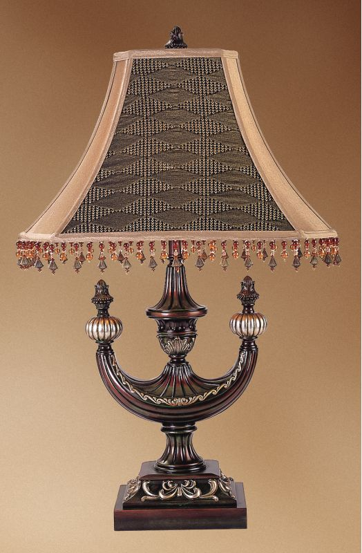 Meyda Tiffany 69333 Table Lamp from the Mardi Gras Collection Tiffany