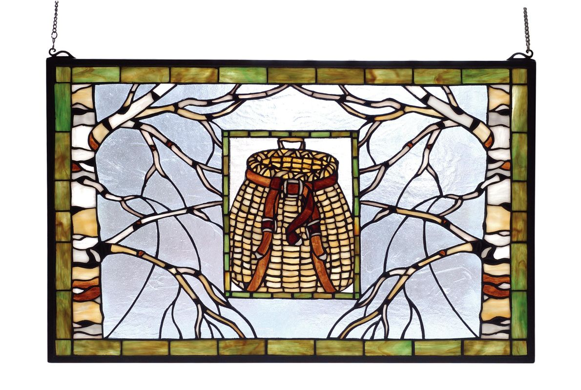 Meyda Tiffany 69502 Stained Glass Tiffany Window from the Outdoor