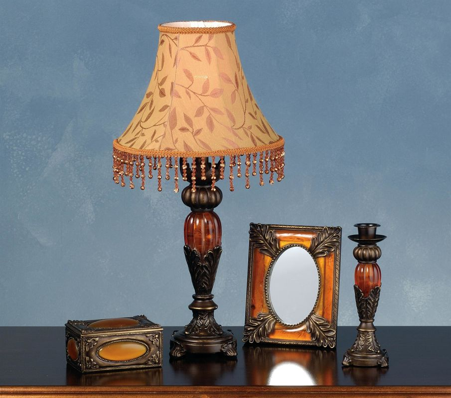 Meyda Tiffany 69538 Lamp Sets from the Amherst Collection Antique