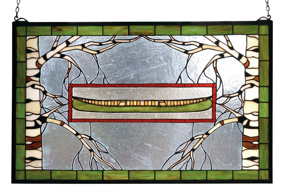 Meyda Tiffany 70490 Stained Glass Tiffany Window from the Outdoor