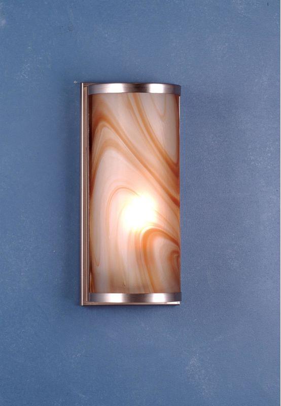 "Meyda Tiffany 70876 Metro 6"" Wide ADA Compliant Single Light Wall"