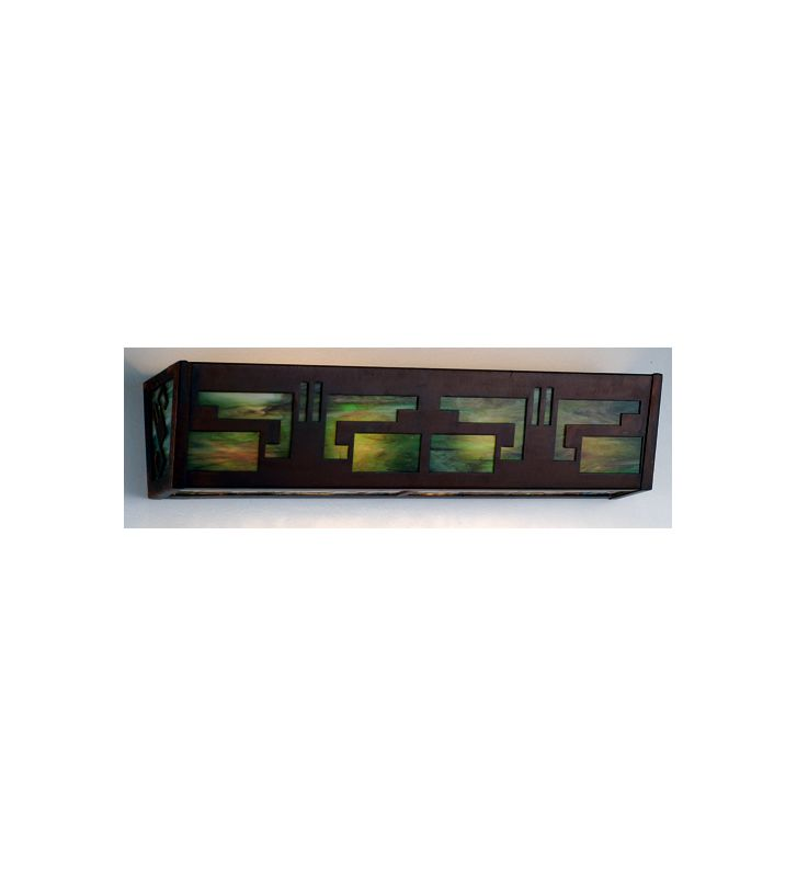 Meyda Tiffany 71035 Four Light Bathroom Fixture Rust Indoor Lighting Sale $517.00 ITEM: bci626234 ID#:71035 UPC: 705696710355 :