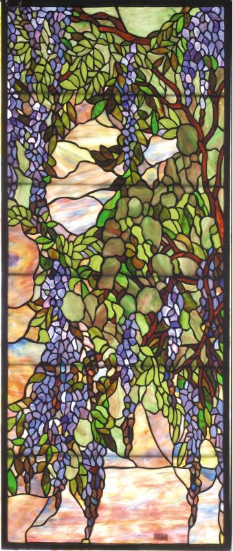 Meyda Tiffany 72152 Tiffany Window Brass Home Decor Stained Glass