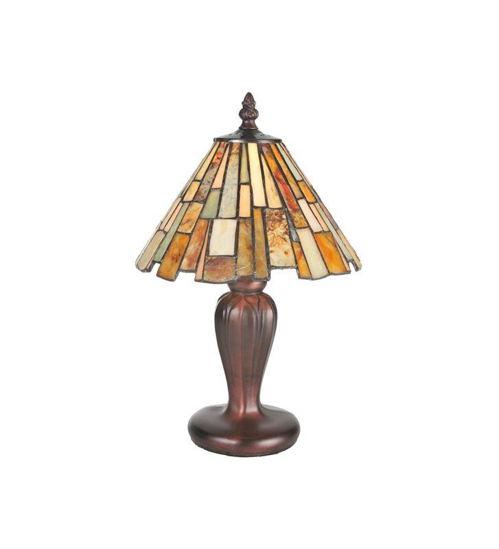 Meyda Tiffany 72580 Mahogany Bronze Tiffany Single Light