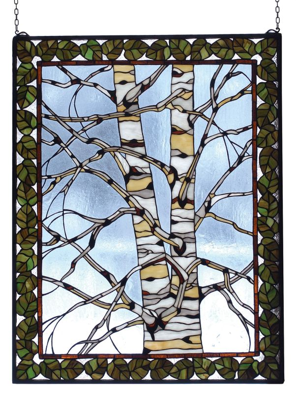 Meyda Tiffany 73265 Stained Glass Tiffany Window from the Outdoor