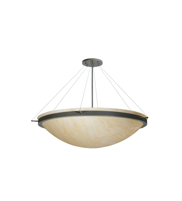 Meyda Tiffany 73344 Seven Light Down Lighting Bowl Pendant Wrought