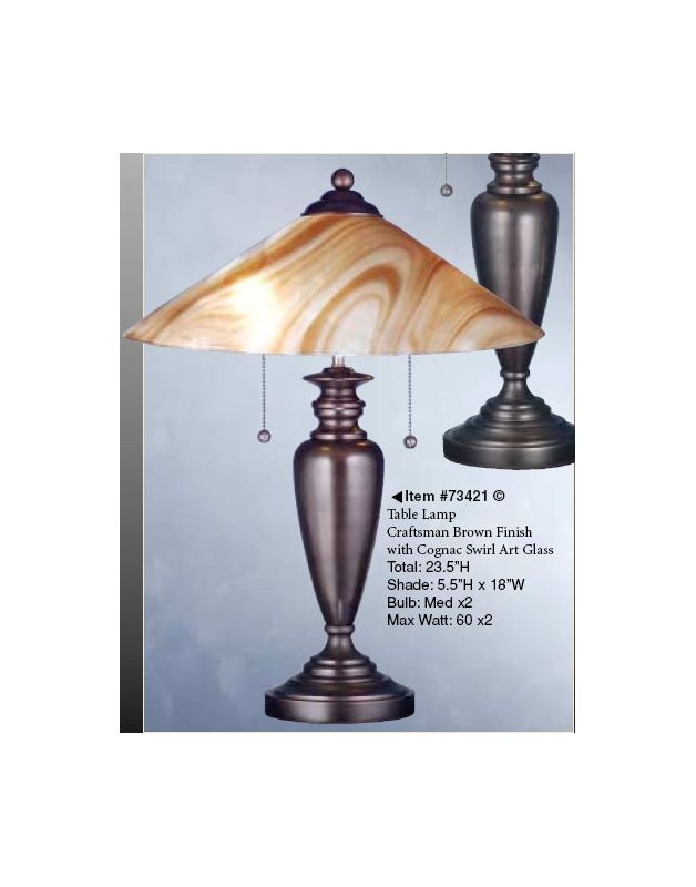 Meyda Tiffany 73421 Lamps Table Lamps Table Lamps from the Metro Line