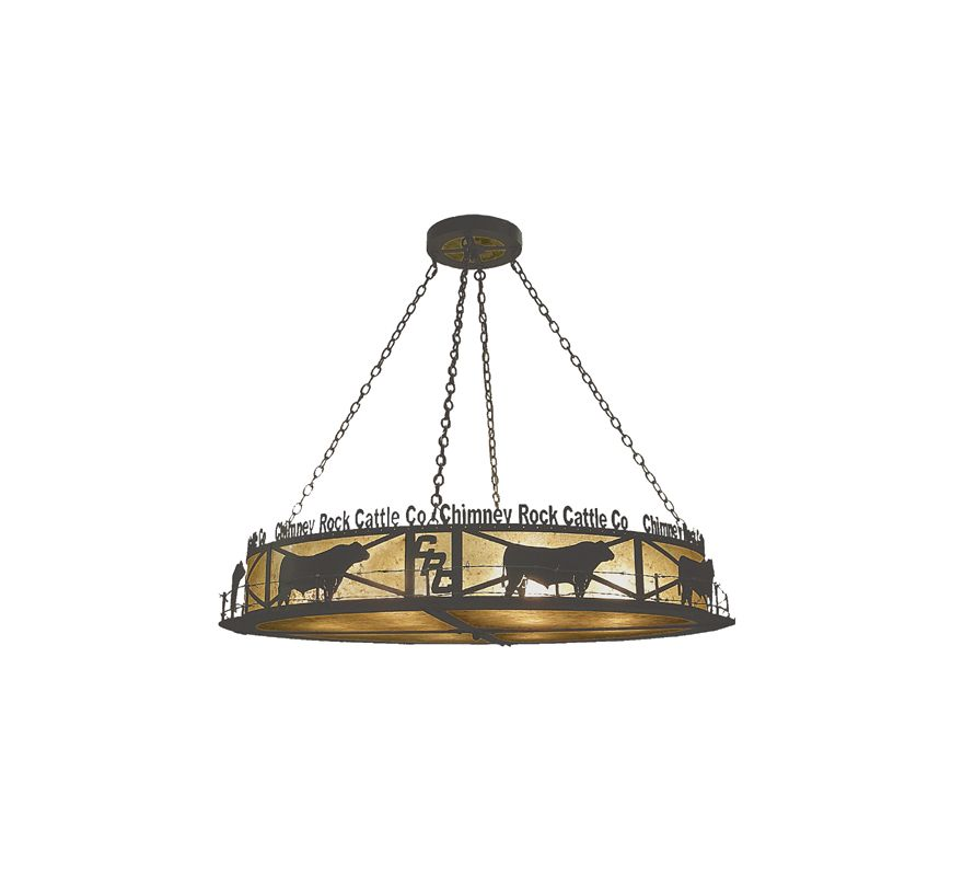 Meyda Tiffany 73485 Twelve Light Pendant from the Chimney Rock