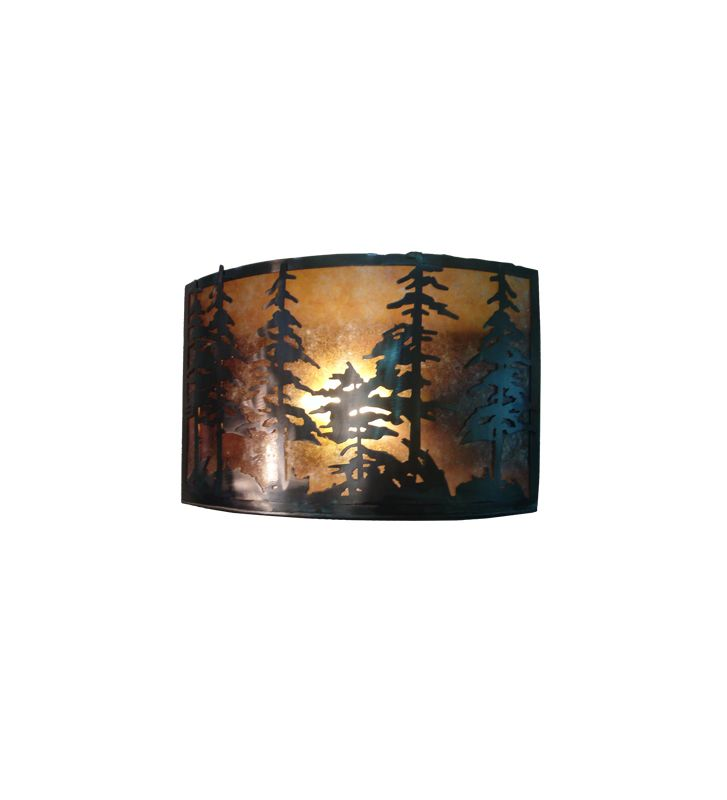 "Meyda Tiffany 73870 18"" Wide ADA Compliant Single Light Wall Washer"
