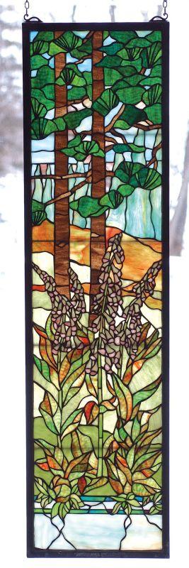 Meyda Tiffany 74037 Stained Glass Tiffany Window from the Wildflowers