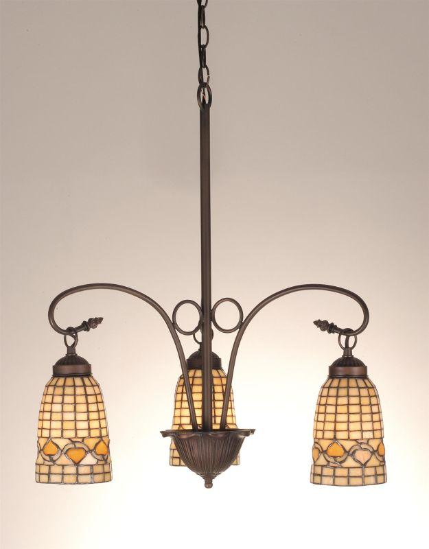 Meyda Tiffany 74051 Stained Glass / Tiffany 3 Light Mini Chandelier Sale $513.00 ITEM: bci98184 ID#:74051 UPC: 705696740512 :