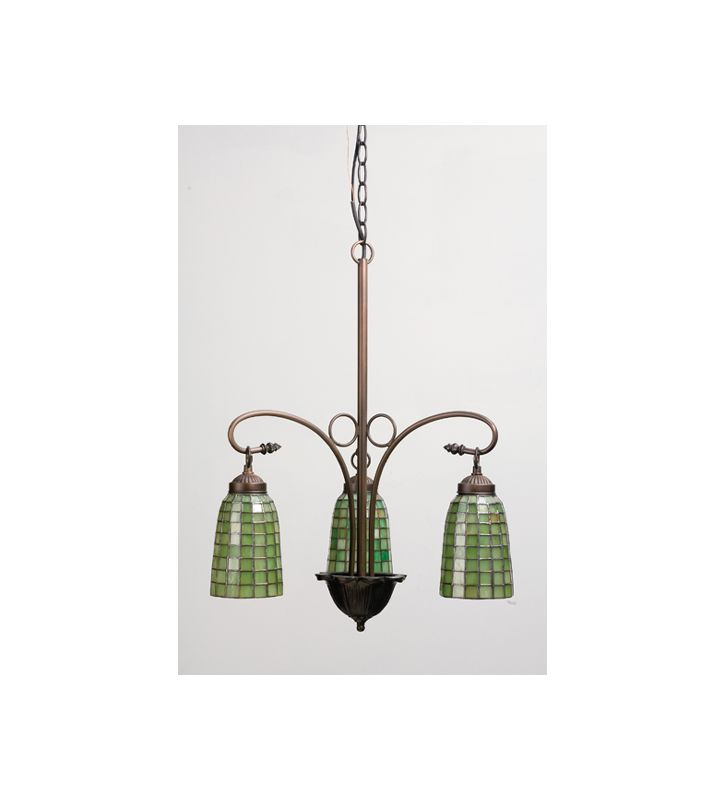 Meyda Tiffany 74054 Stained Glass / Tiffany 3 Light Mini Chandelier Sale $486.00 ITEM: bci389389 ID#:74054 UPC: 705696740543 :