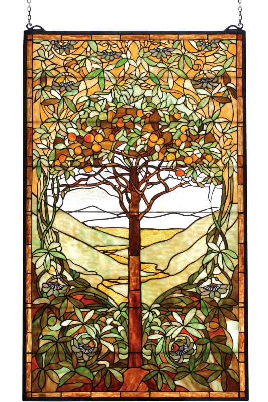 Meyda Tiffany 74065 Stained Glass Tiffany Window from the Tiffany