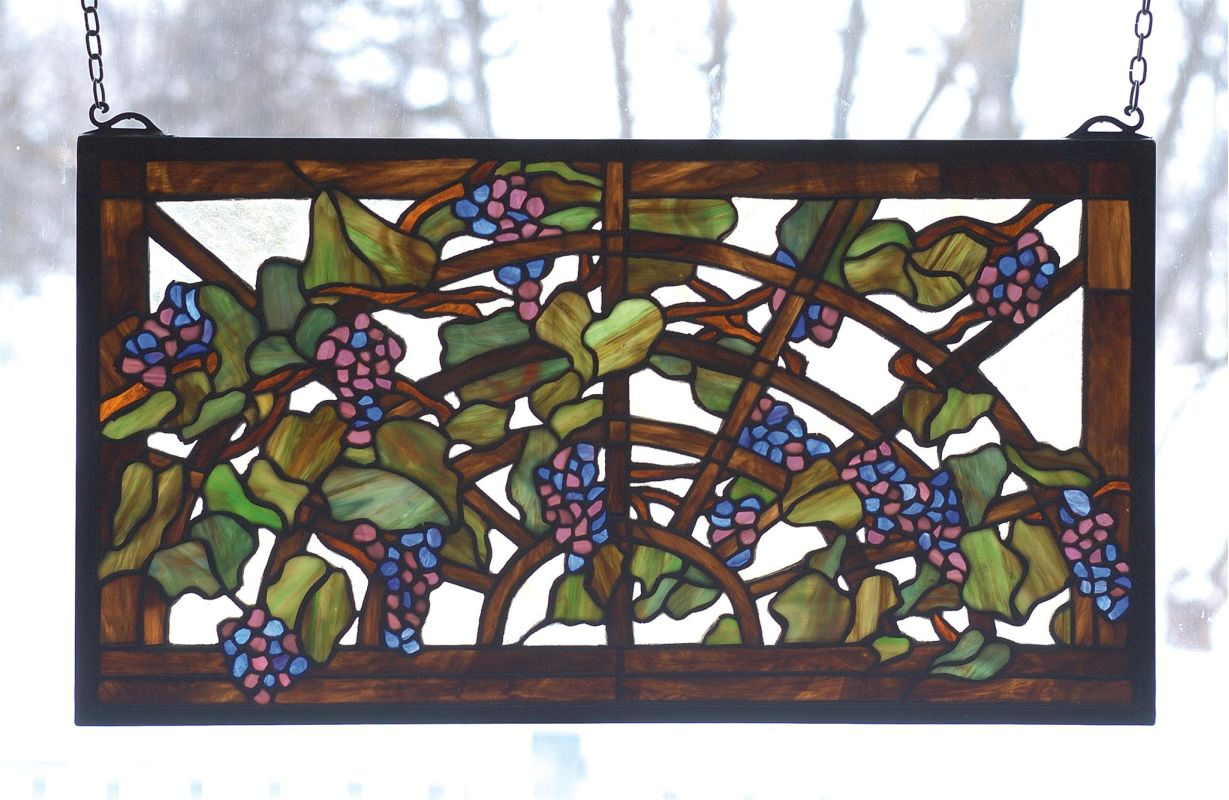 Meyda Tiffany 78088 Stained Glass Tiffany Window from the Tiffany