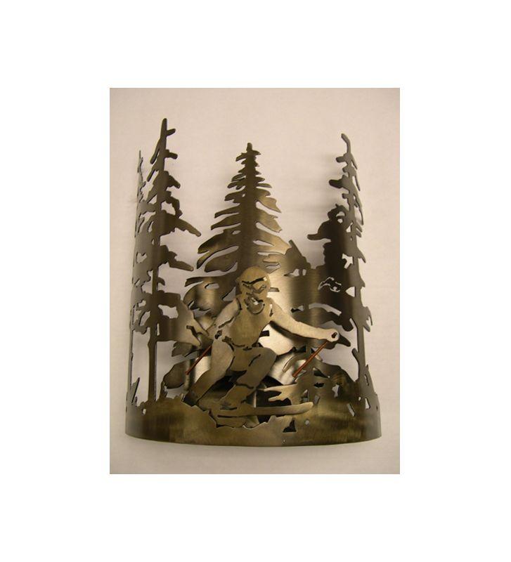 "Meyda Tiffany 78288 11"" Wide Single Light Wall Washer Antique Copper"