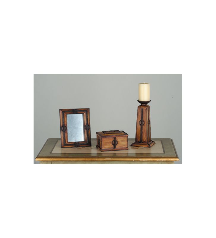 Meyda Tiffany 81193 Stained Glass / Tiffany Candle Holder from the
