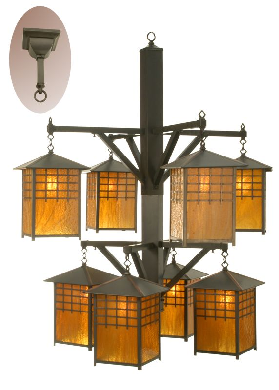 Meyda Tiffany 81396 Eight Light Down Lighting Two Tier Chandelier from Sale $10236.60 ITEM: bci877420 ID#:81396 UPC: 705696813964 :