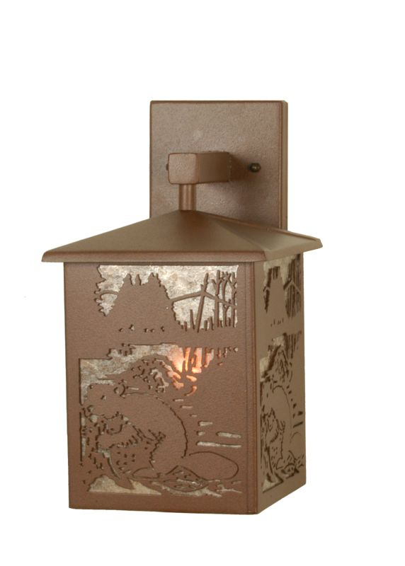 Meyda Tiffany 81498 Single Light Down Lighting Outdoor Wall Sconce