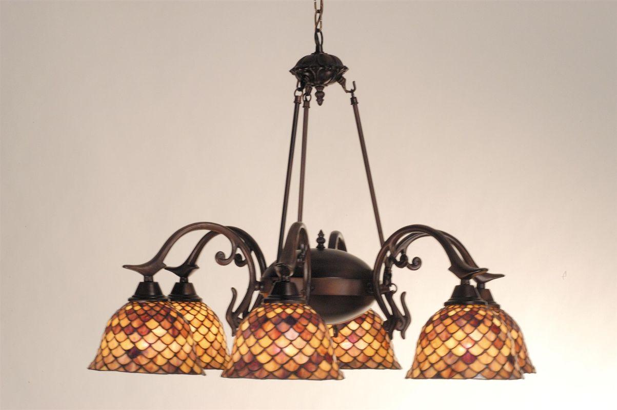 Meyda Tiffany 81860 Stained Glass / Tiffany 6 Light Down Lighting Sale $1823.80 ITEM: bci105669 ID#:81860 UPC: 705696818600 :