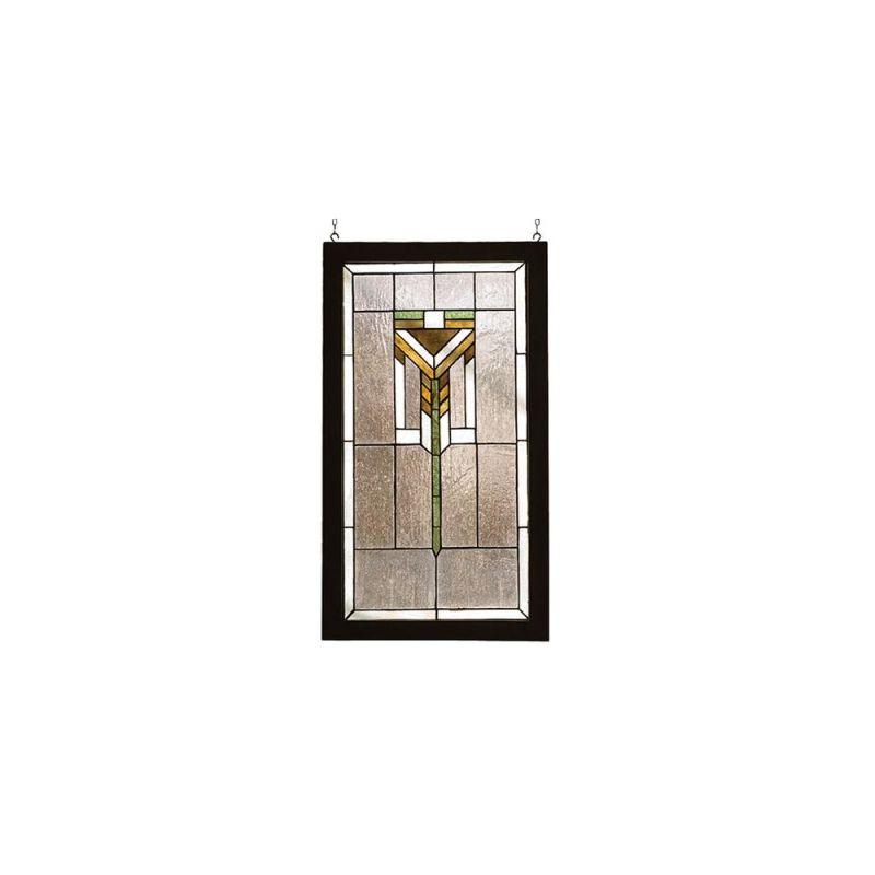 Meyda Tiffany 98099 Stained Glass Tiffany Window from the Arts &