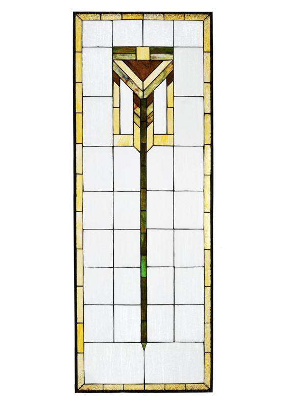 Meyda Tiffany 98128 Tiffany Stained Glass Window Pane from the Prairie