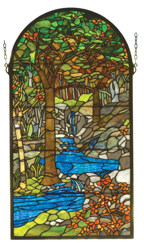 Meyda Tiffany 98255 Stained Glass Tiffany Window from the Tiffany