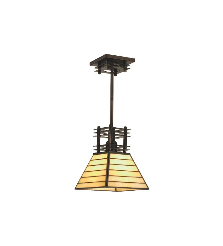 Meyda Tiffany 98921 Single Light Mini Pendant from the Watersedge