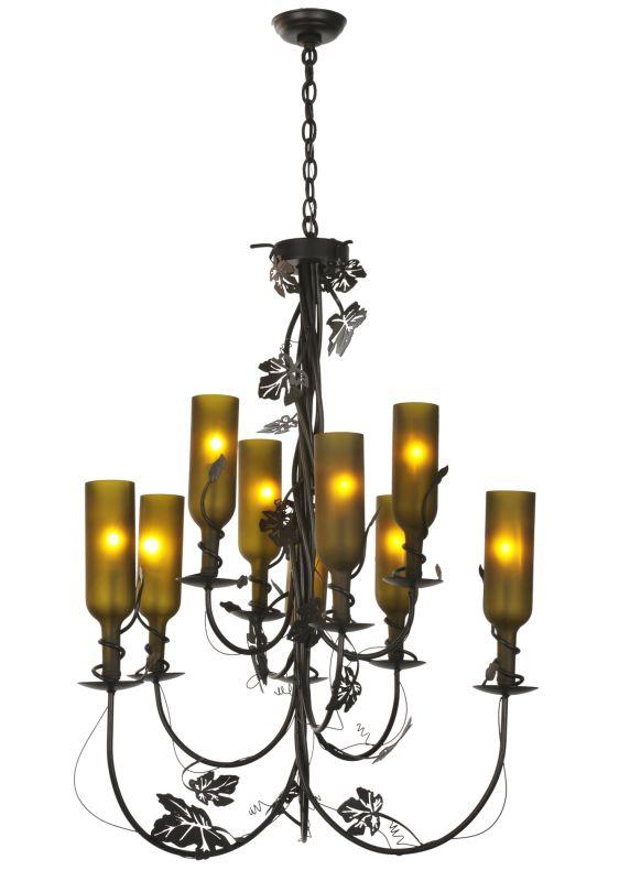 Meyda Tiffany 99035 Nine Light Up Lighting Two Tier Chandelier from Sale $2842.40 ITEM: bci877303 ID#:99035 UPC: 705696990351 :