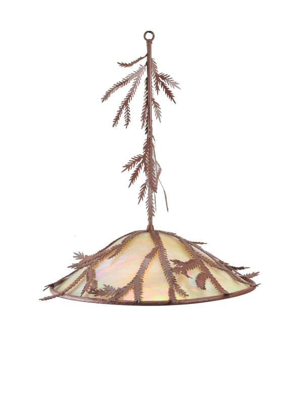 Meyda Tiffany 99171 Three Light Down Lighting Pendant from the Pine Sale $1247.40 ITEM: bci877401 ID#:99171 UPC: 705696991716 :