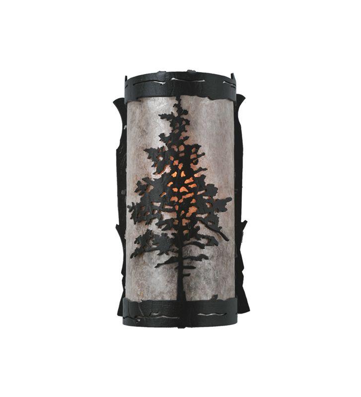 """Meyda Tiffany 99174 Tamarack 4"""" Wide ADA Compliant 8 Light Wall Washer"""
