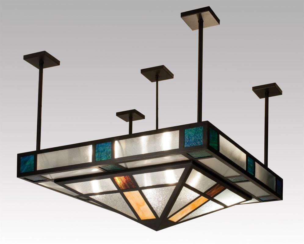 Meyda Tiffany 99207 Tiffany Single Light Semi-Flush Ceiling Fixture