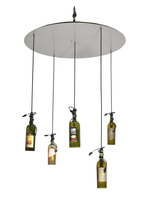 Meyda Tiffany 99832 Five Light Down Lighting Multi Light Pendant from