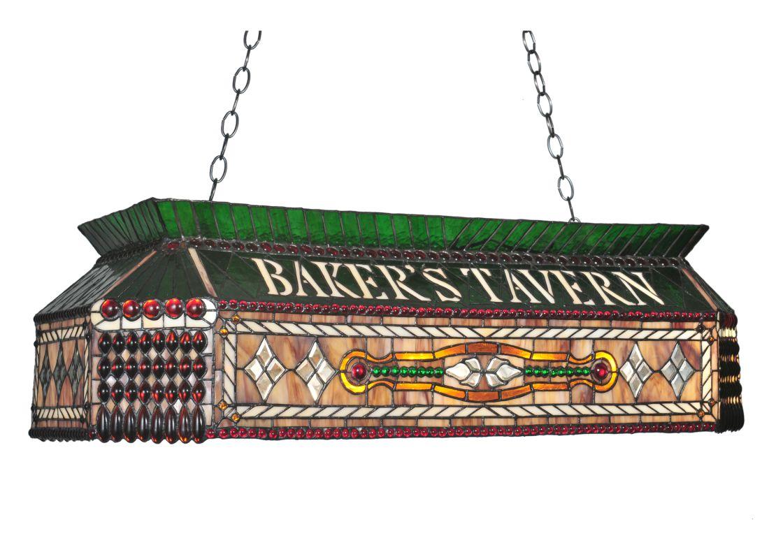 "Meyda Tiffany 104942 40"" L Personalized Baker´s Tavern Island /"