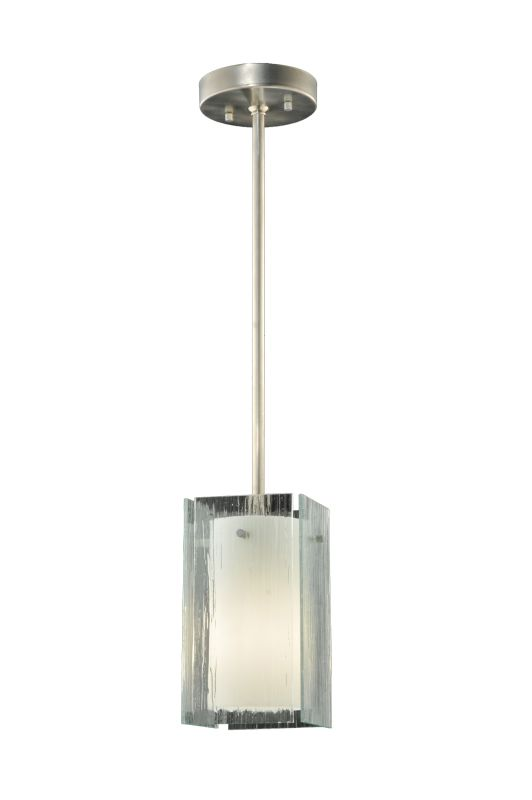 "Meyda Tiffany 111393 5"" Square Quadrato Mist Mini Pendant Mist Indoor"